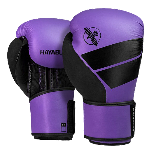 Hayabusa S4 Boxing Gloves 12Oz Purple/Black