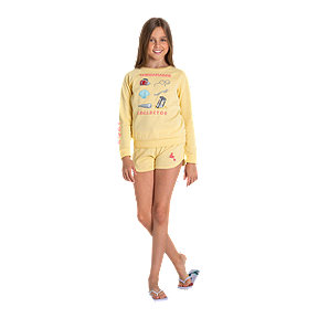 Roxy Girls' Mermaid Thingamabob Collector Long Sleeve Crew