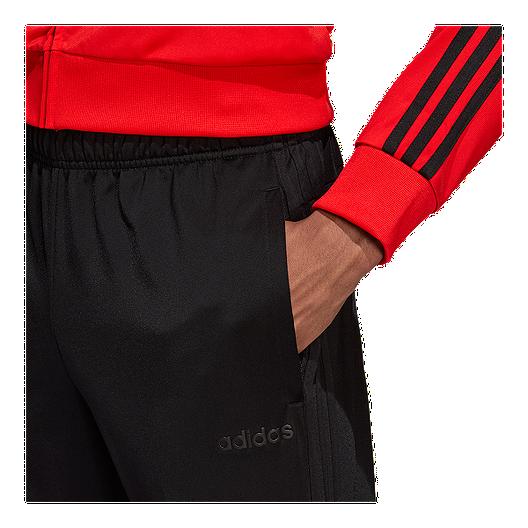 adidas Men's Essentials 3 Stripe Tricot Pants