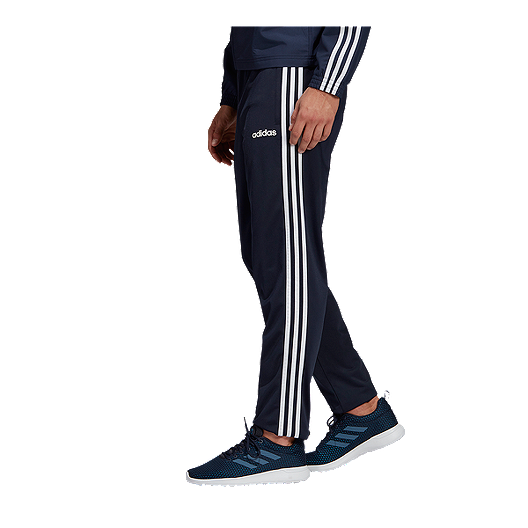 adidas Men's Essential 3 Stripe Tricot Pants
