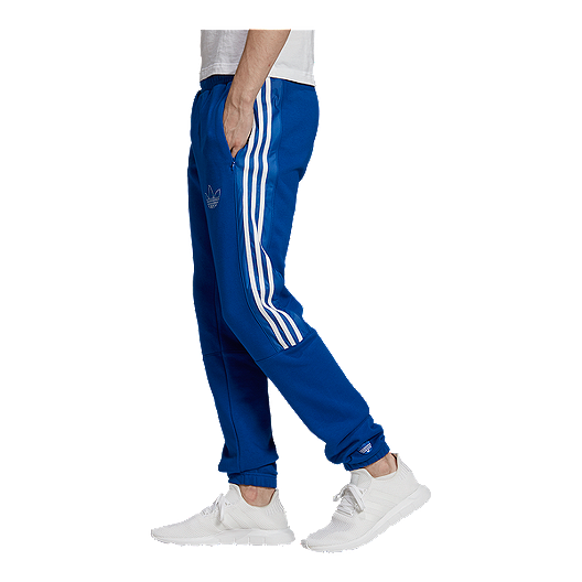 adidas Originals Men's Outline Fleece Pants Collegiate Royal