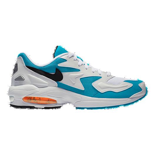 338bdd1c32b1 Nike Men s Air Max 2 Light Shoes - White Black