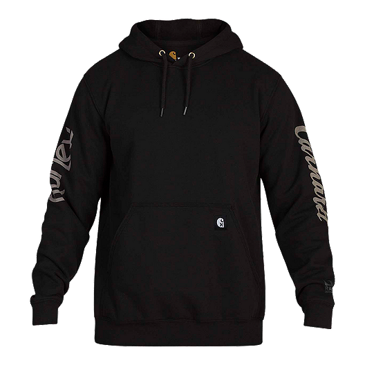 low priced 6c4ca f3e26 Hurley x Carhartt Men's OG Pullover Hoodie - Black