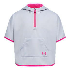 Under Armour Toddler Girls' Armour Fleece Hooded Poncho