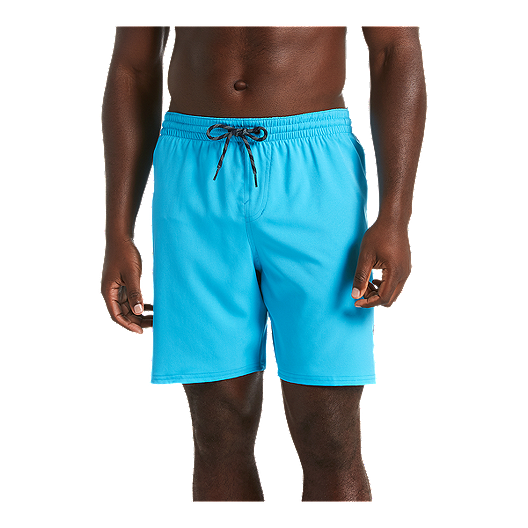 38d5a369db Nike Men's 7 Inch Solid Vital Volley Shorts - Light Blue Fury