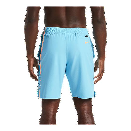 cd2647ab2f Nike Men's 9 Inch Retro Stripe Lap Volley Shorts - Blue Gaze   Sport ...