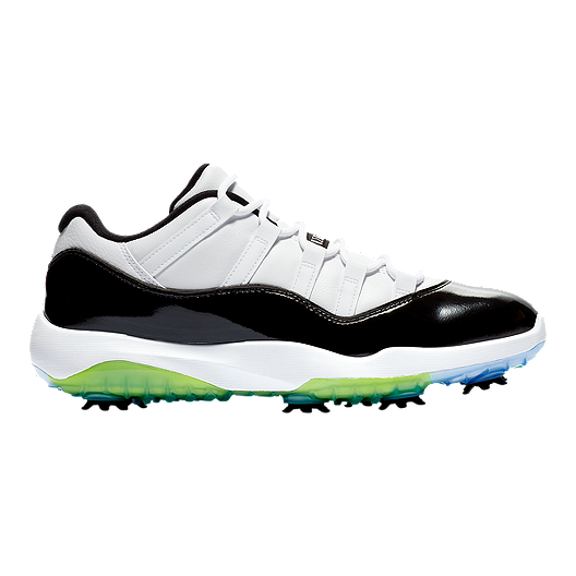 08f1a720186e Nike Men s Jordan 11 Concord Golf Shoes