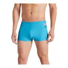 7ed6ce066 Nike Men s Rift Square Leg Swim Shorts - Light Blue Fury