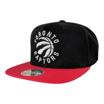 watch 7f98b 98133 Toronto Raptors Mitchell and Ness 110 Flex 2 Tone Snapback Cap   Sport Chek