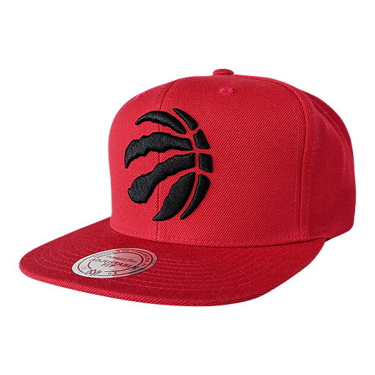 bcccc63fac1a Toronto Raptors Mitchell and Ness Wool Solid 110 Flex Snapback Cap ...