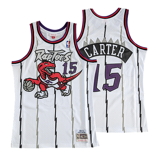 premium selection ae86a 78fde Toronto Raptors Men's Mitchell and Ness Hardwood Classics ...