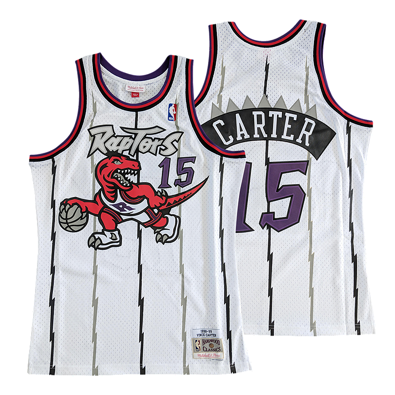 ab76578c Toronto Raptors Men's Mitchell and Ness Hardwood Classics Carter Jersey |  Sport Chek