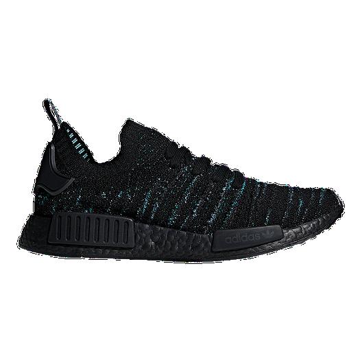 3425469fd356a adidas Men s NMD RI Parley Primeknit Shoes - Black