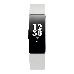 Fitbit Inspire HR Fitness Tracker - White/Black