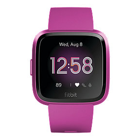 Fitbit Versa Lite Edition Smart Watch - Mulberry