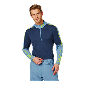 Helly Hansen Men's Lifa Active 1/2 Zip - North Sea Blue