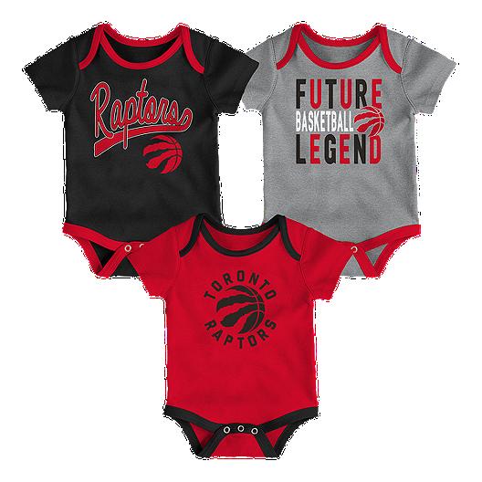 Bib /& Booties Set Toronto Raptors Newborn Rebound Creeper
