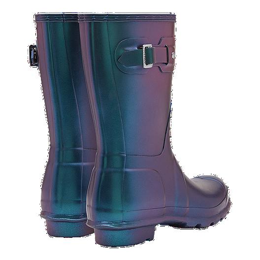 32d6e4865 Hunter Women's Original Nebula Short Rain Boots - Wave Blue. (0). View  Description
