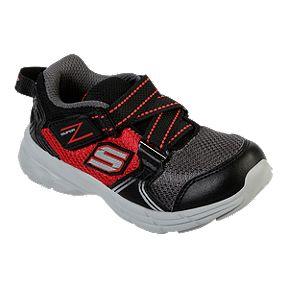 634da516543d Skechers Boy Toddler Z-Strap Shoes - Red Black