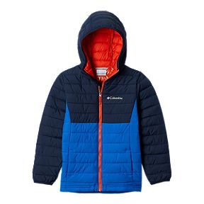 0956fd394d1 Columbia Boys' Powder Lite Hooded TR Jacket