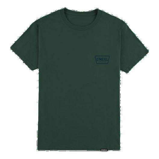 241ca8760 O Neill Men s Trapezoid T Shirt - Forest Green