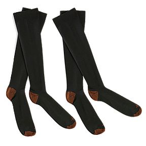 5f2cdd2079 Tommie Copper Compression Socks 2 Pack - Black