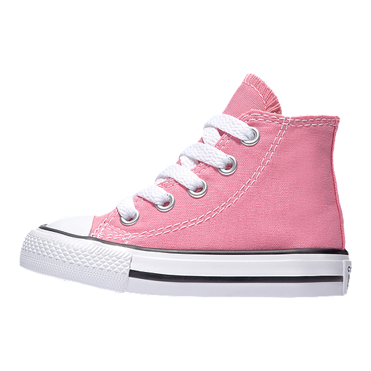 Converse Girl Toddler Chuck Taylor All Star High Top Shoes Pink