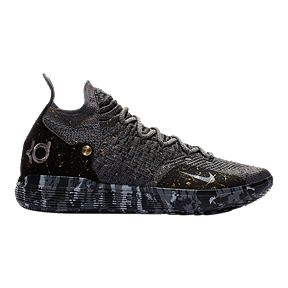 sale retailer d2319 42b8a Nike Men s Zoom KD 11 Basketball Shoes - Black Grey Gold