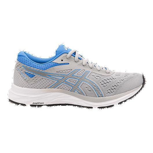 3bde6e172dda6a ASICS Women's GEL Excite 6 Running Shoes - Grey/Blue | Sport Chek