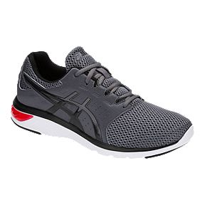 huge selection of 5903e 8bfb3 ASICS Men s GEL Moya Walking Shoes - Black White Red