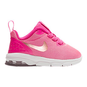 Nike Girl Toddler Air Max Motion Shoes - Pink/White