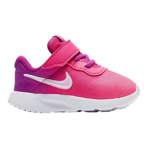 1429529bcc Nike Girl Toddler Tanjun Print Shoes - Violet/Pink | Sport Chek