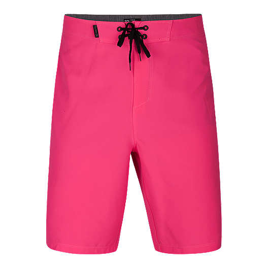 4ad1cb5394 Hurley Men's Phantom One And Only 20 Inch Boardshorts - Pink | Sport Chek