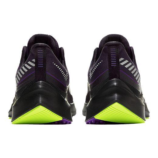 Nike Women's Zoom Winflo 6 Shield Running Shoes - Grey/Silver ...