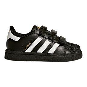 a9091069c84e adidas Boy Toddler Superstar 3V Shoes - Black/White