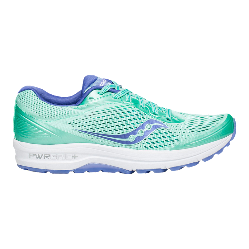 Saucony Women's Grid Shadow Genesis 3 Running Shoes Teal GreenPink