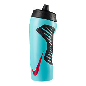 Nike 18 oz Hyperfuel Water Bottle - Aqua/Black Metal