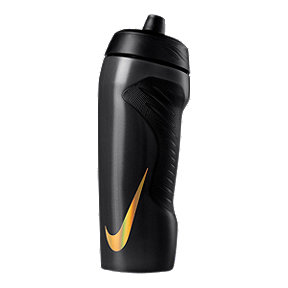 Nike 18 oz Hyperfuel Water Bottle - Black/Metal