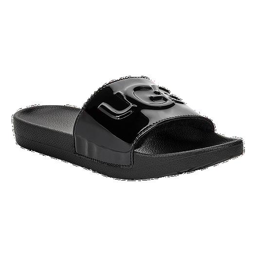 Women's Sandals Black Graphic Royale Ugg Slide wv0mnN8O