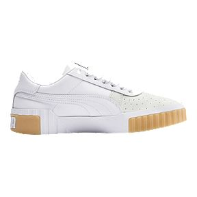 c6b4efd74 PUMA Women s Cali Exotic Shoes - White Gum