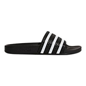 1a9dc7aa0 adidas Men s Adilette Slide Sandals - Core Black White