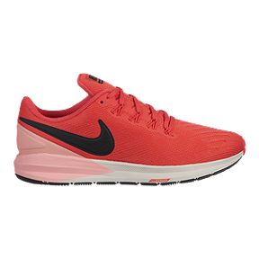 d766280517c Nike Women s Air Zoom Structure 22 Running Shoes - Red Coral