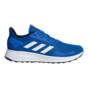 ed87b538d3f4e1 adidas Men s Duramo 9 Training Shoes - Blue White Black