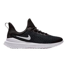 3e5dcff3d08d Nike Boys s Renew Rival Grade School Shoes - Black White Grey