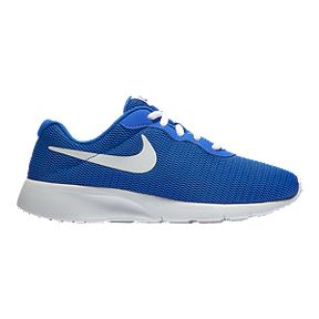 lowest price f6ef5 a2456 Nike Boys  Tanjun Wide Grade School Shoes - Game Royal White