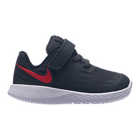 Nike Boy Toddler Star Runner Shoes - Anthracite/Red
