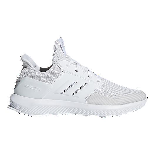 1ade2b3886798 adidas Girls  RapidaRun Knit Grade School Shoes - Grey White