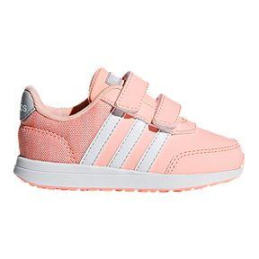 bae6e73e69782 adidas Girl Toddler Switch 2.0 Shoes - Haze Coral White