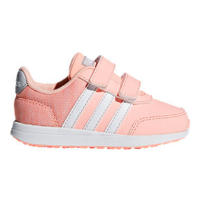adidas Girl Toddler Switch 2.0 Shoes - Haze Coral/White