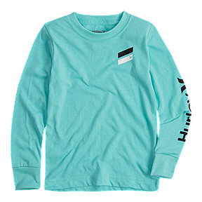 Hurley Boys' Icon Slash Long Sleeve Tee